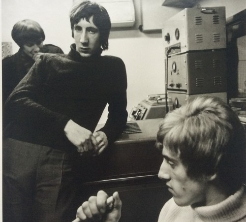 Pete Townshend and Roger Daltrey by Colin Jones