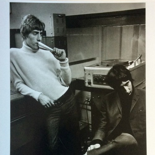 Roger Daltrey and Pete Townshend by Colin Jones